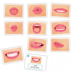 Logo-bits cards for oral...