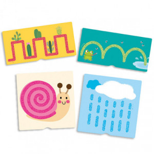 Tactile number cards for...
