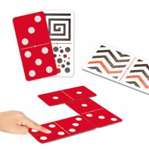 Tactile-visual dominoes