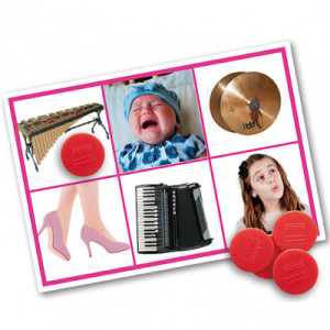 Bingo: actions and musical...