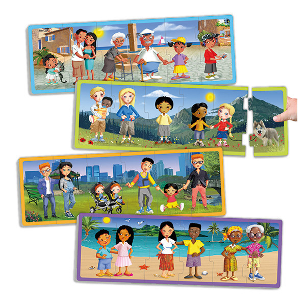 Set families of today's world puzzles...