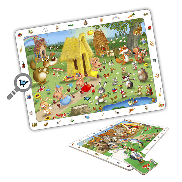 Set observation puzzles - fairytales...