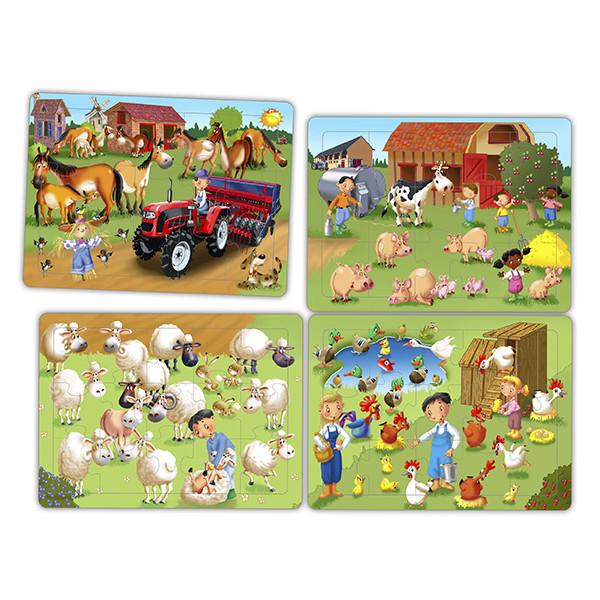 Set cooperative puzzles - the farm (4...