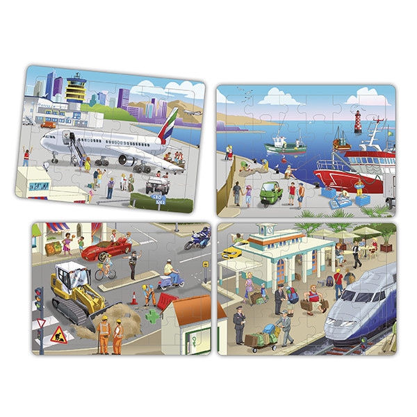 Set cooperative puzzles  the city (4...