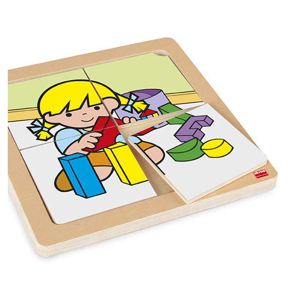 Set 4-piece zaro and nita puzzles (4...